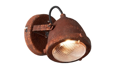 Brilliant Leuchten Wandstrahler »Carmen«, GU10, 1 St., Warmweiß, LED Wandspot rostfarbend kaufen