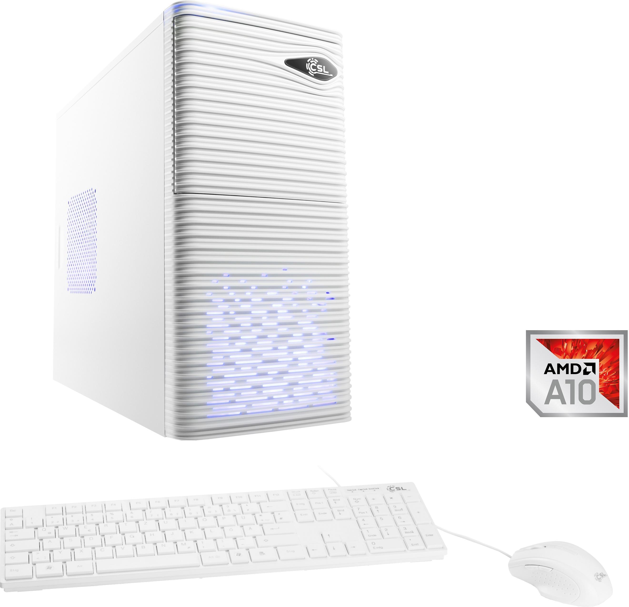 CSL »Sprint T6815« PC (AMD, A10, Radeon R7, 8 GB RAM, 1000 GB HDD)