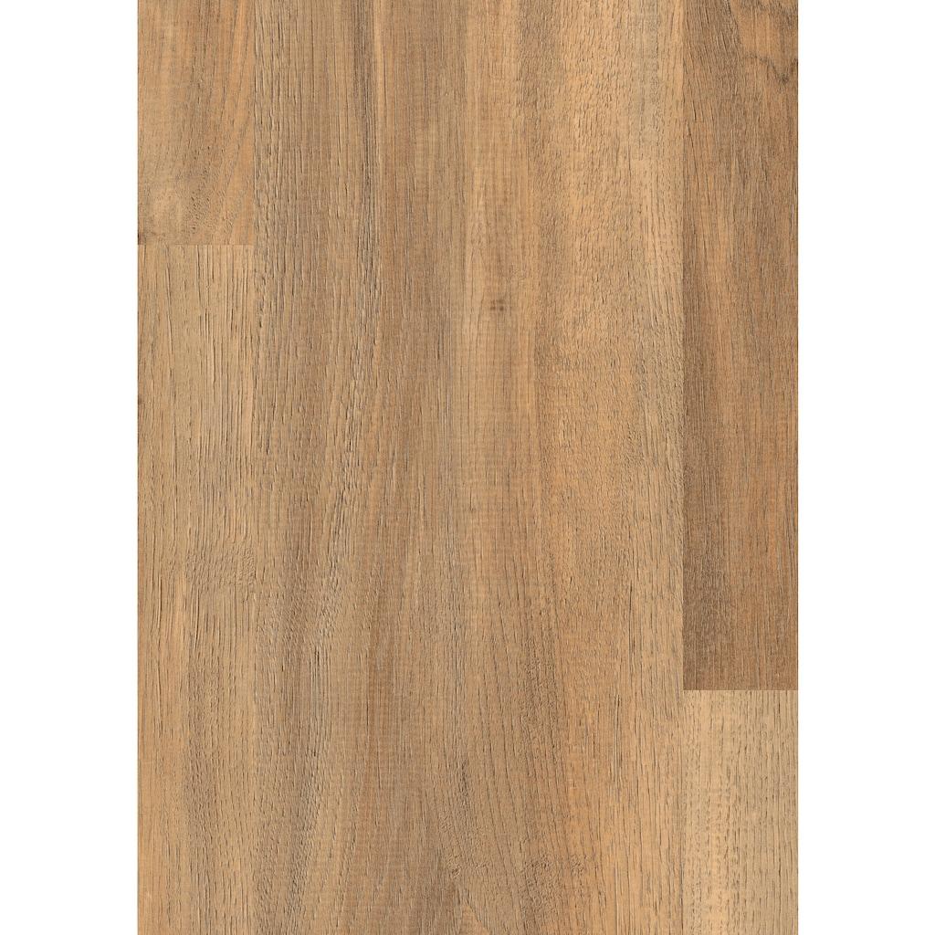 EGGER Laminat »HOME Ampara Eiche braun«, ohne Fuge, 2,481 m²/Pkt., Stärke: 7 mm