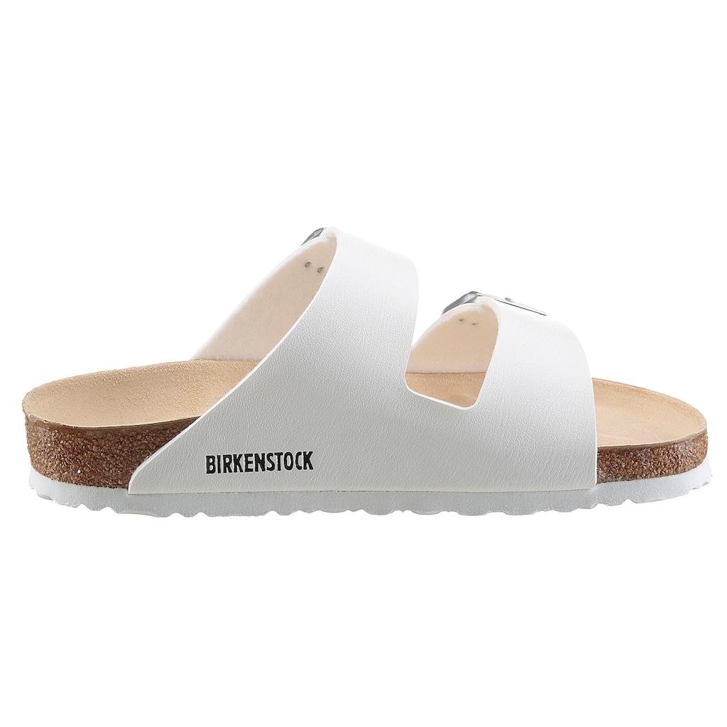 Birkenstock Pantolette »ARIZONA BF«, mit ergonomisch geformtem Fußbett
