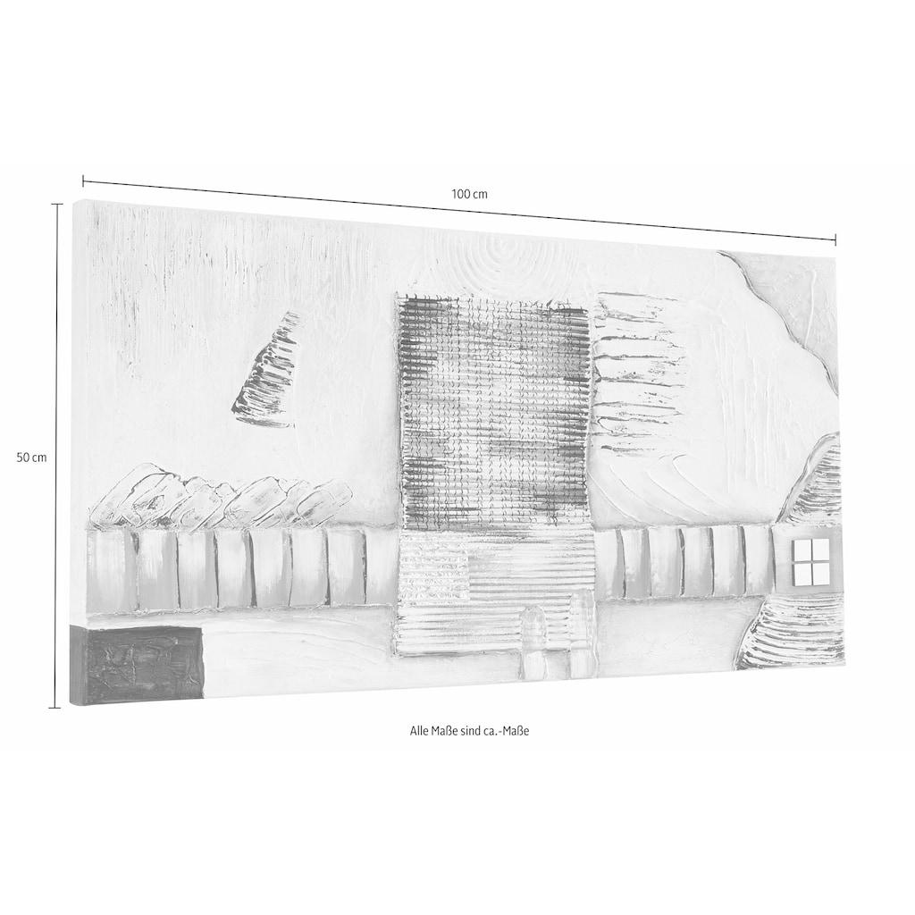 my home Leinwandbild »Exceptionally«, 100/50 cm