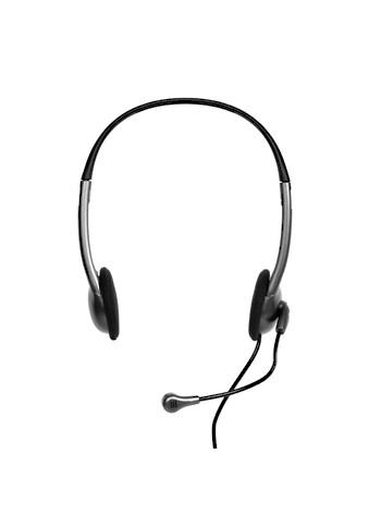 Port Designs Headset »Stereo Headset mit Mikrophon, 1,2 m Kabel«, Kopfhörer mit Kabel kaufen