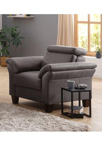 Home affaire Sessel »Arngast«, Inclusive Kopfteilverstellung und Federkern kaufen