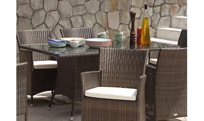DESTINY Tisch »Auckland«, Polyrattan, 165x90 cm kaufen