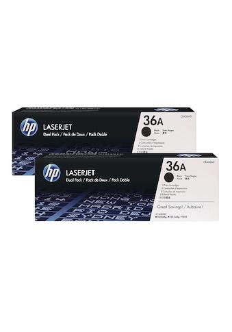 HP Doppelpack Druckkassetten 36A »HP CB436AD« kaufen
