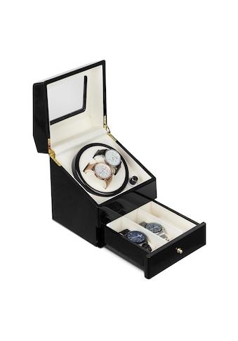 Klarstein Geneva Uhrenbeweger 2 Uhren 4 Modi Schubfach schwarz kaufen