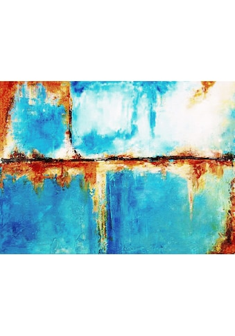 my home Gemälde »Blauer Horizont«, (80/3,5/60 cm) kaufen