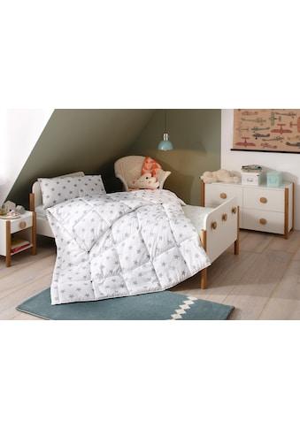 Lüttenhütt Kinderbettdecke + Kopfkissen »Stern«, (Spar-Set), Hohes Bauschvolumen kaufen