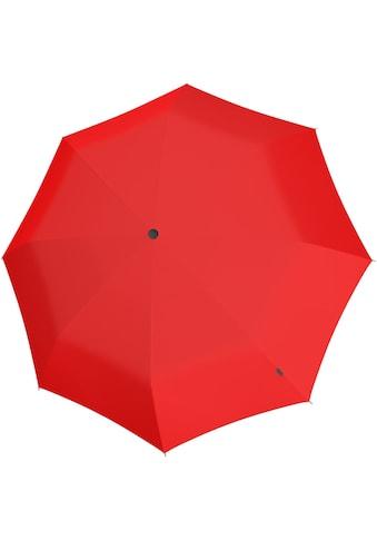 Knirps® Taschenregenschirm »U.090 Ultra Light XXL Compact Manual, rot« kaufen