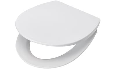 WC - Sitz »Paris weiß«, mit langsamer Absenkung, PP Klodeckel kaufen