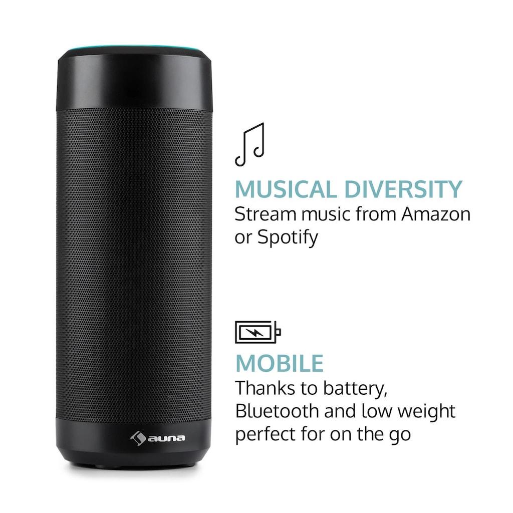 Auna Intelligenter Lautsprecher Alexa Voice Sprachsteuerung »Intelligence«