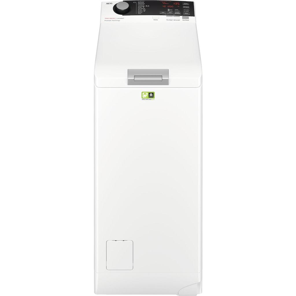 AEG Waschmaschine Toplader »L7TE74275«, L7TE74275, ProSteam - Auffrischfunktion