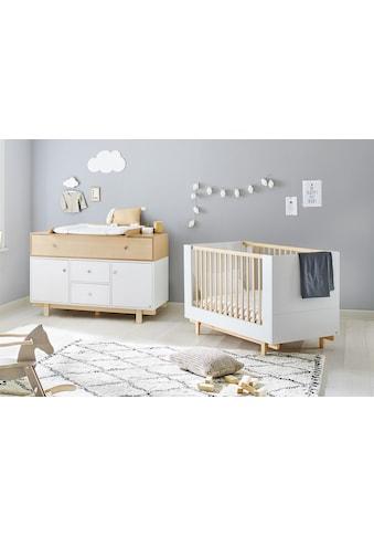 Pinolino® Babymöbel-Set »Boks«, (Spar-Set, 2 St.), extrabreit; mit Kinderbett und... kaufen