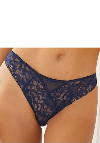 LASCANA String »Emiliana«, aus modernem Spitzenmix kaufen