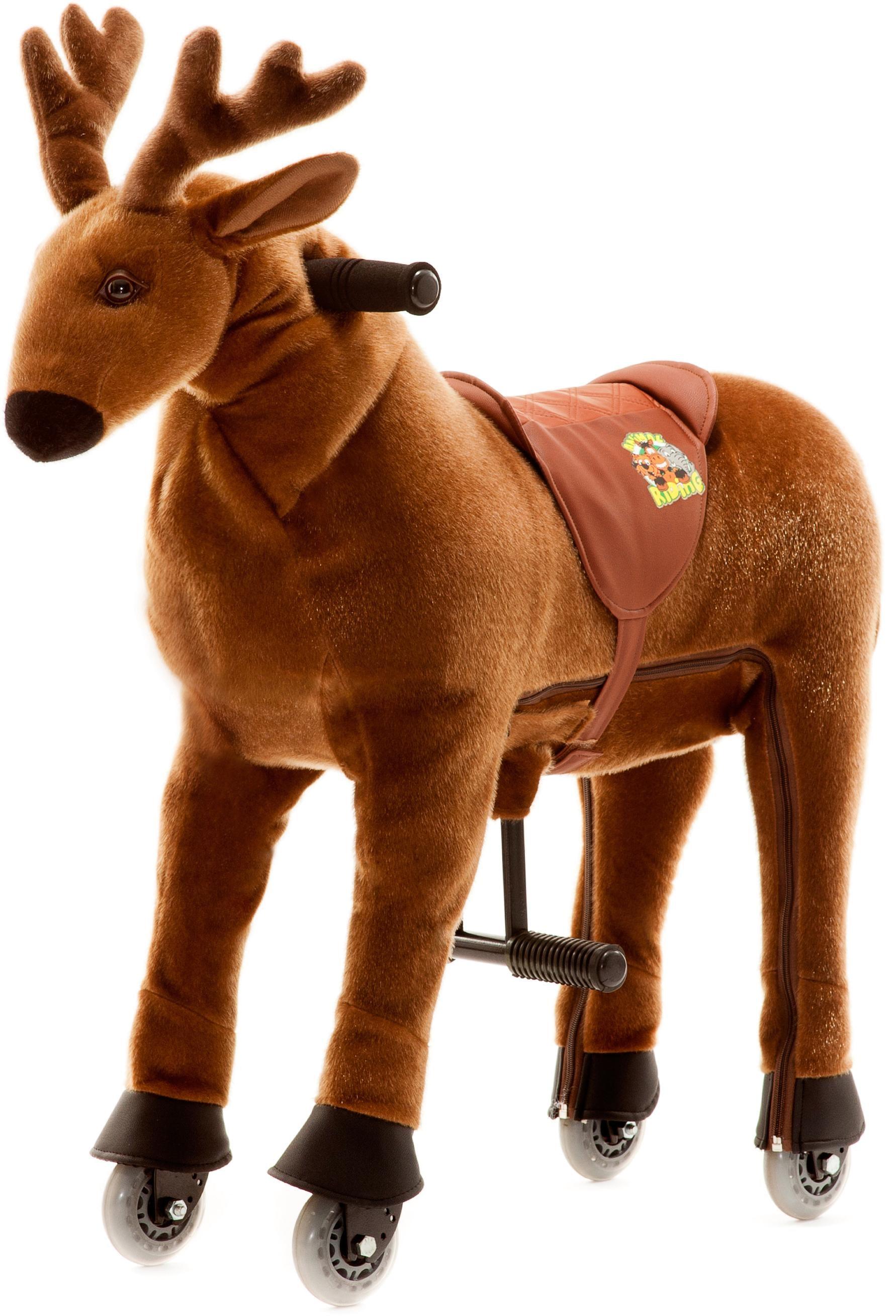 Animal Riding Reittier mit Rollen, »Elch Rudi, S«