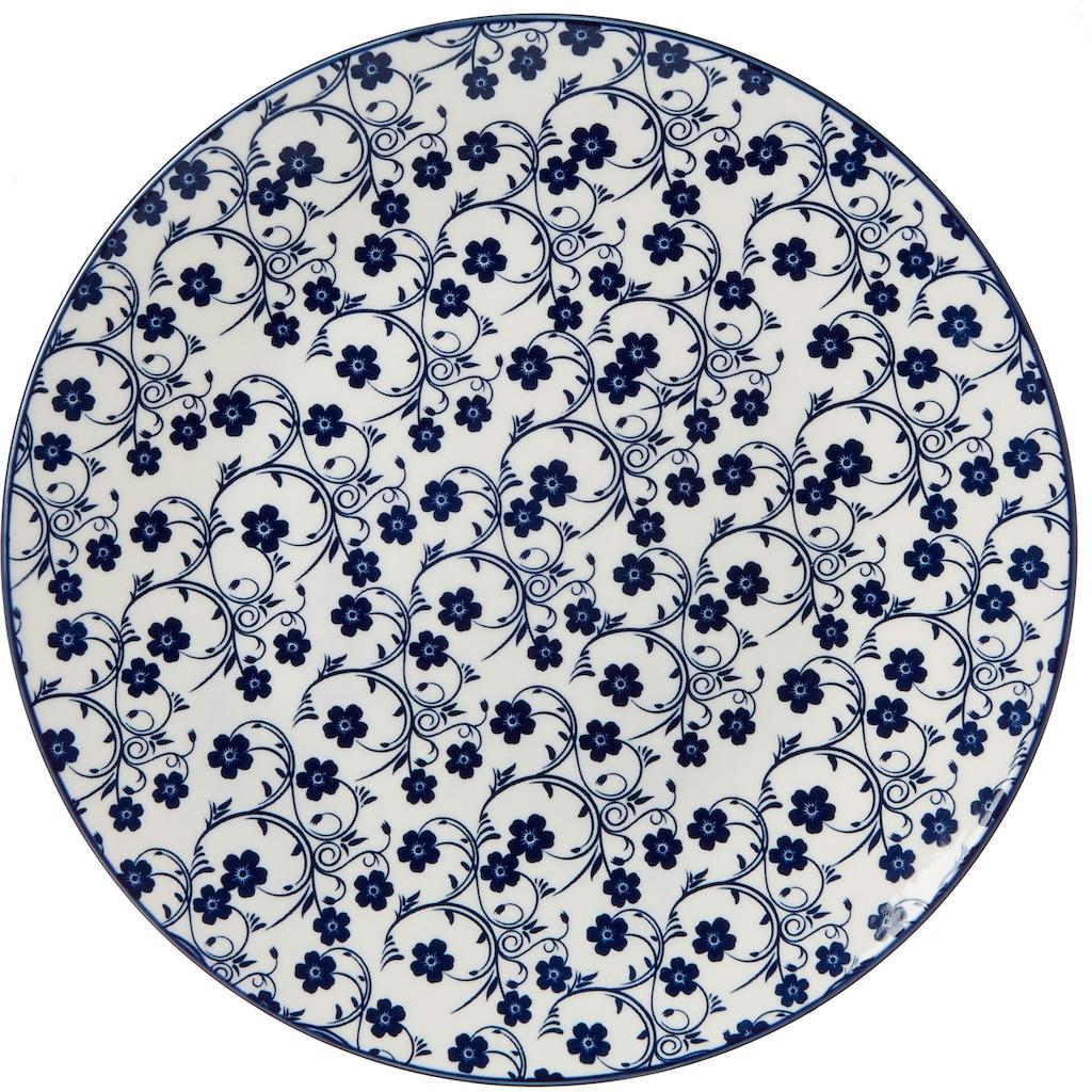 Ritzenhoff & Breker Speiseteller »ROYAL SAKURA«, (Set, 4 St.), Keramik, Ø 26,5 cm