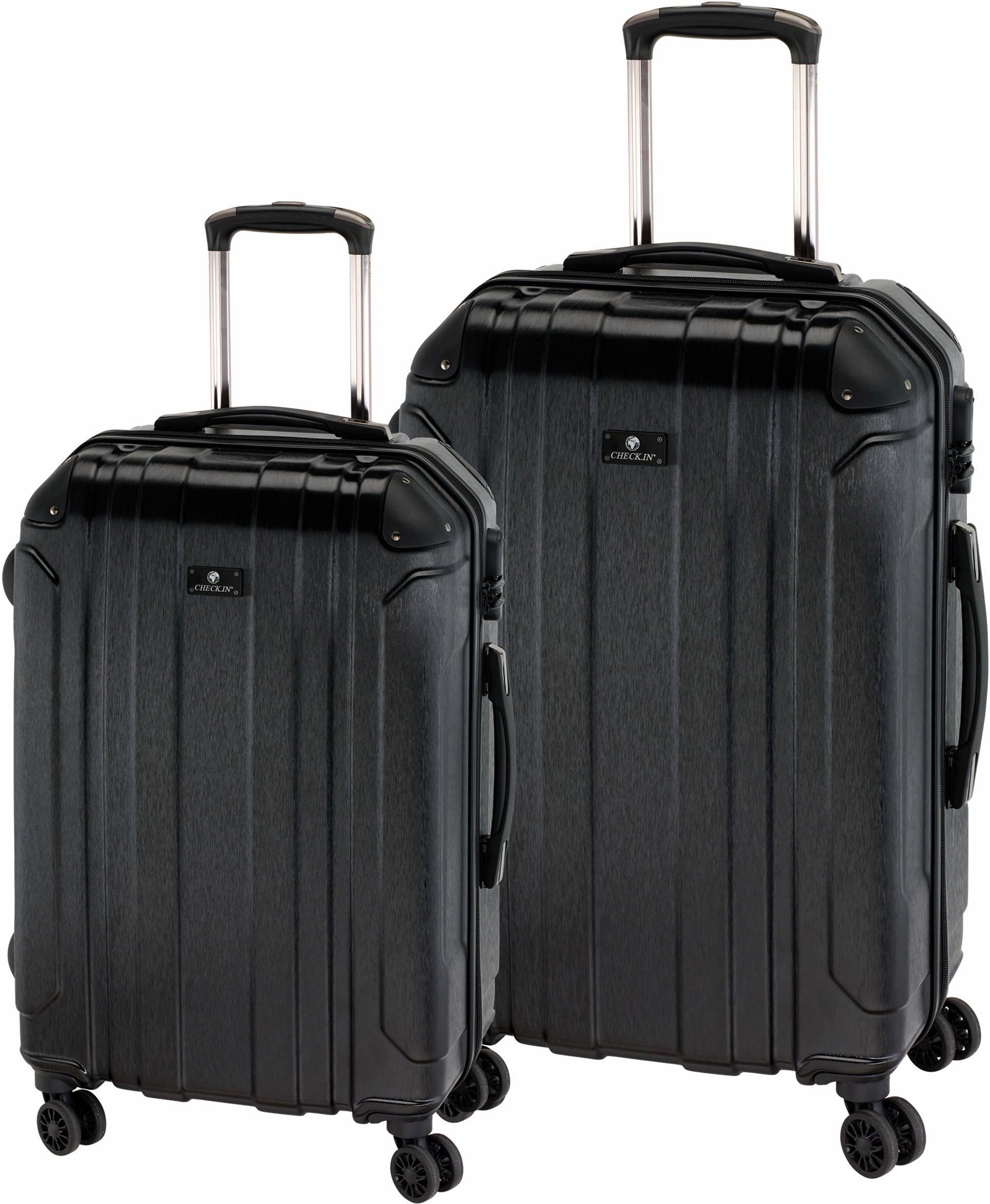 CHECK.IN® Hartschalentrolley Set mit 4 Zwillingsrollen, 2-tlg., »Bilbao« | Taschen > Koffer & Trolleys > Hartschalenkoffer | CHECK IN