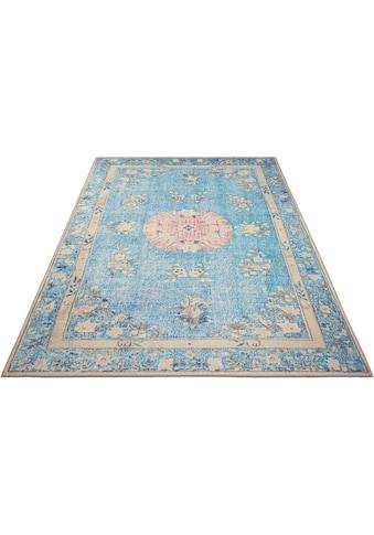DELAVITA Teppich »Sahar«, rechteckig, 6 mm Höhe, Orient-Vintage-Optik, Wohnzimmer kaufen