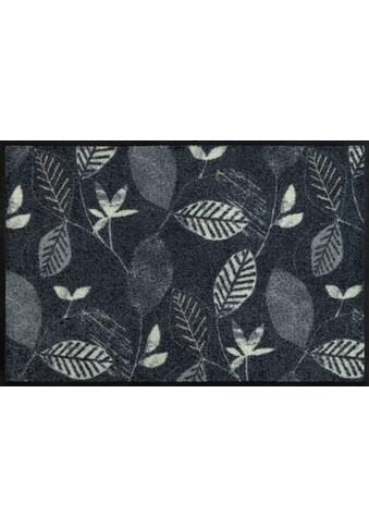 wash+dry by Kleen-Tex Fußmatte »Conflore«, rechteckig, 7 mm Höhe, Schmutzfangmatte,... kaufen