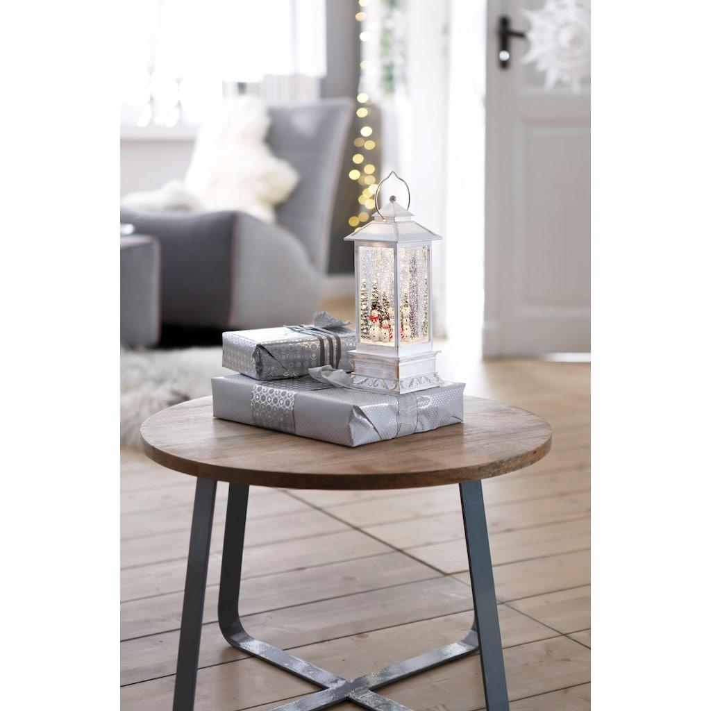 KONSTSMIDE LED Laterne »Schneemänner«, Warmweiß