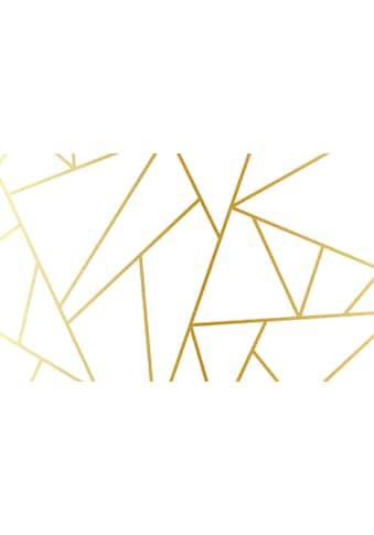 Consalnet Vliestapete »Geom. Figuren/Gold«, geometrisch kaufen