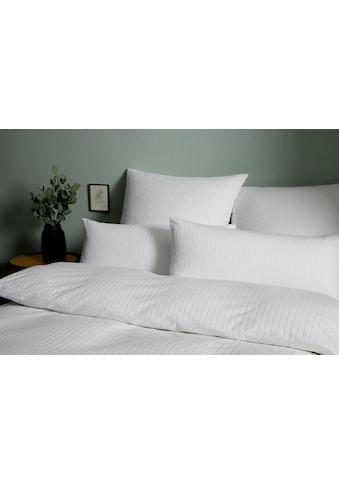 Elegante Bettwäsche »Solid Stripe«, im dezenten Streifenlook kaufen