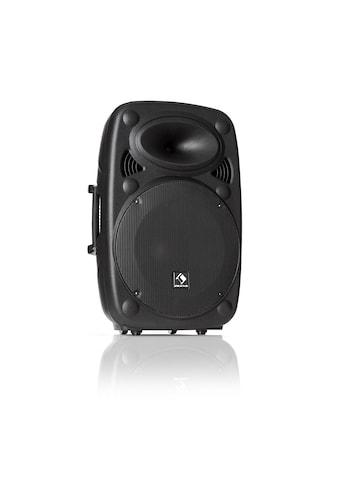 "Auna Aktiver PA Lautsprecher 15"" 800 W max. USB- und SD-Ports MP3 kaufen"