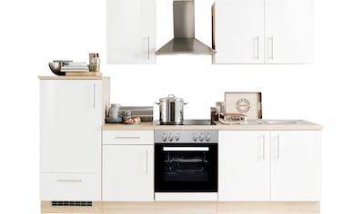 Menke Küchen Küchenzeile »Premium«, Küchenzeile mit E-Geräten, Breite 270 cm kaufen