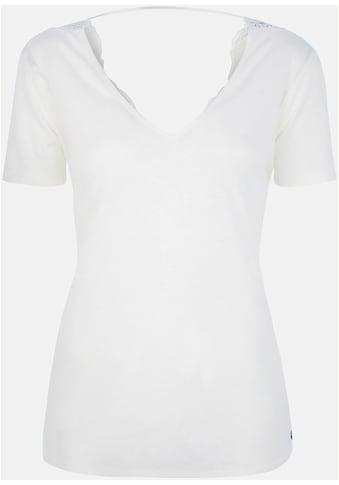 Kaporal Spitzenshirt »PRESS«, mit Spitze und großem Rückenausschnitt kaufen