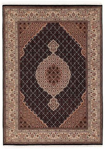 OCI DIE TEPPICHMARKE Orientteppich »Cavari Mahi«, rechteckig, 5 mm Höhe, handgeknüpft, mit Fransen, Wohnzimmer kaufen