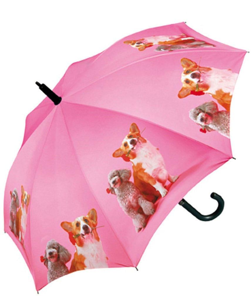 doppler® Regenschirm für Kinder, »Stockschirm Dogs Automatik« | Accessoires > Regenschirme > Stockschirme | Mehrfarbig | Polyester | DOPPLER