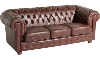 Max Winzer® Chesterfield-Sofa »Bristol«, mit edler Knopfheftung, Breite 200 cm kaufen