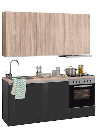 HELD MÖBEL Küchenzeile »Ohio«, mit E-Geräten, Breite 180 cm kaufen