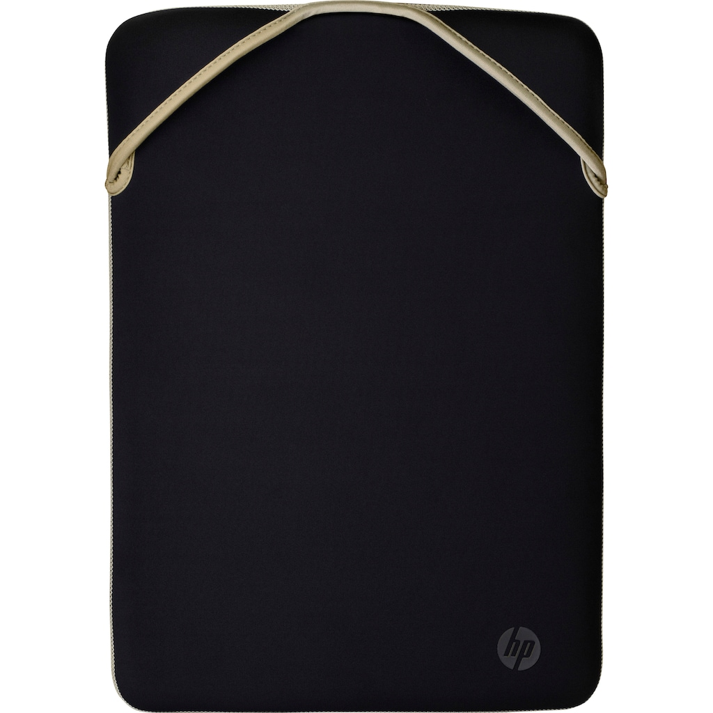 HP Laptoptasche »Protective Reversible 38,1cm 15Zoll Blk/Gold Sleeve (P)«