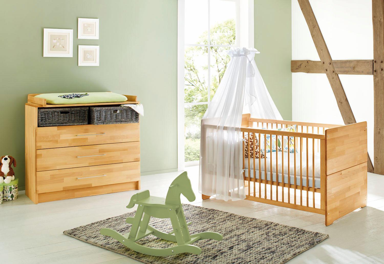 Gruen Massivholz Komplett Babyzimmer Online Kaufen Mobel