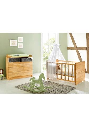 Pinolino® Babymöbel-Set »Natura«, (Spar-Set, 2 St.), breit; Made in Europe; mit... kaufen