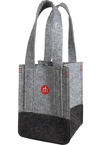 Franz Müller Flechtwaren Flaschenträger »Filzwerk« kaufen