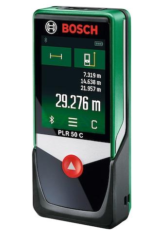 BOSCH Entfernungsmesser »PLR 50 C«, Messbereich: 50m kaufen