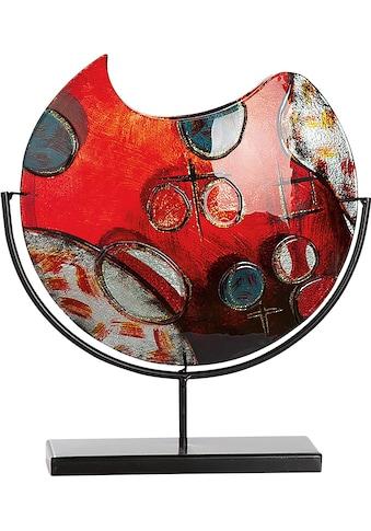 GILDE GLAS art Dekovase »Croce«, aus Glas, Höhe ca. 37 cm kaufen
