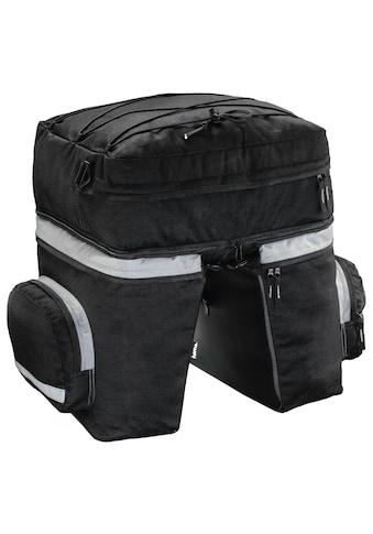 Hama Gepäckträgertasche Fahrrad 3tlg mit Rucksack u. Regenschutz kaufen
