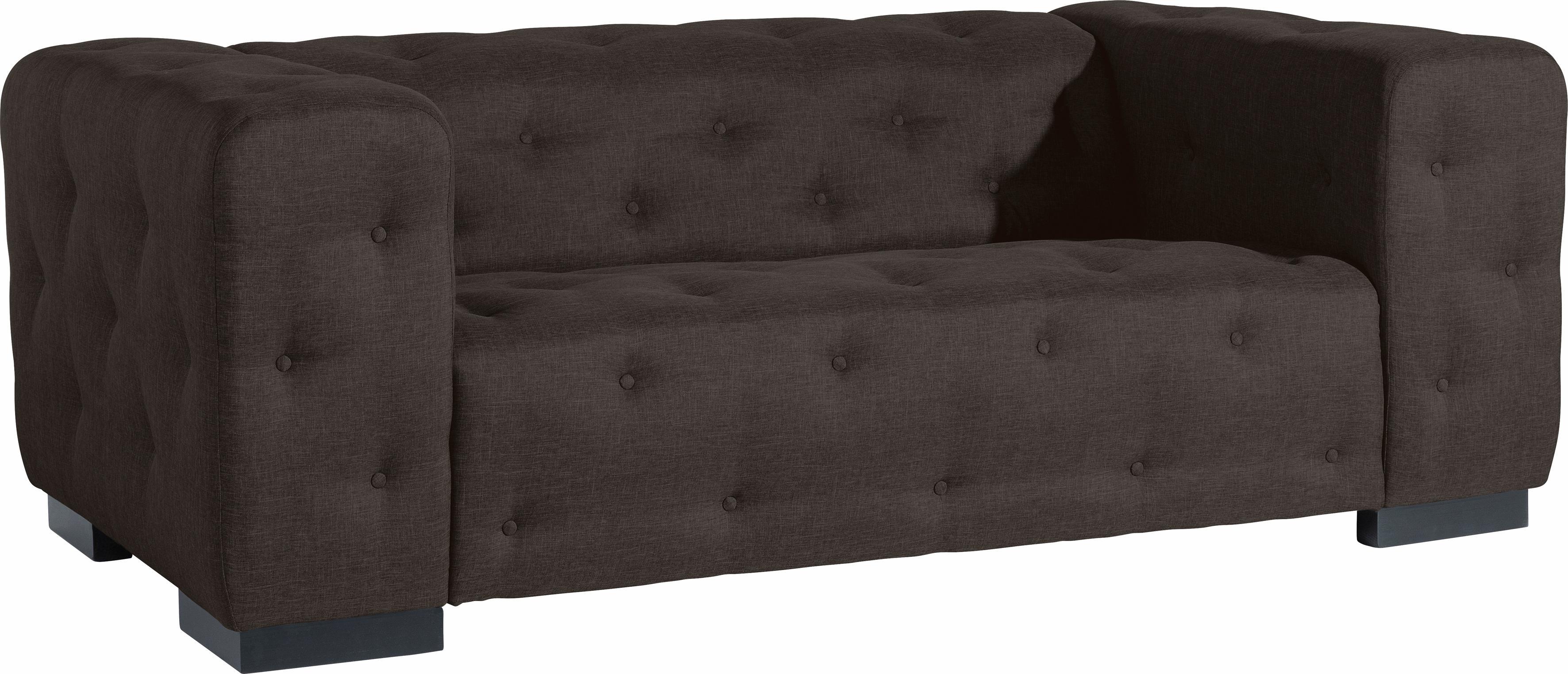 Max Winzer® 2-Sitzer Sofa »York« mit Knopfheftung, Breite 196 cm