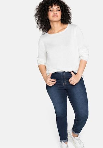Sheego Stretch-Jeans, mit Schlupfbund kaufen