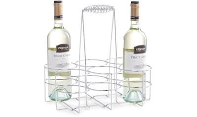 Zeller Present Flaschenkorb, (1 tlg.), Flaschenhalter für 6 Flaschen kaufen