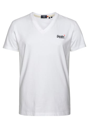 Superdry V - Shirt »OL CLASSIC VEE TEE NS« kaufen