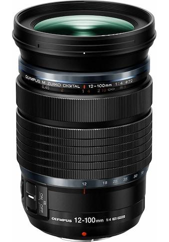 Olympus Teleobjektiv »M.ZUIKO 12-100 mm F4 PRO« kaufen