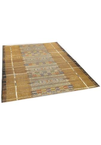 Gino Falcone Teppich »Outdoor-Africa 38«, rechteckig, 5 mm Höhe, Flachgewebe, In- und... kaufen