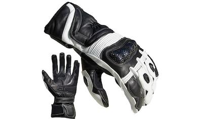 PROANTI Motorradhandschuhe, Racing, aus Leder kaufen