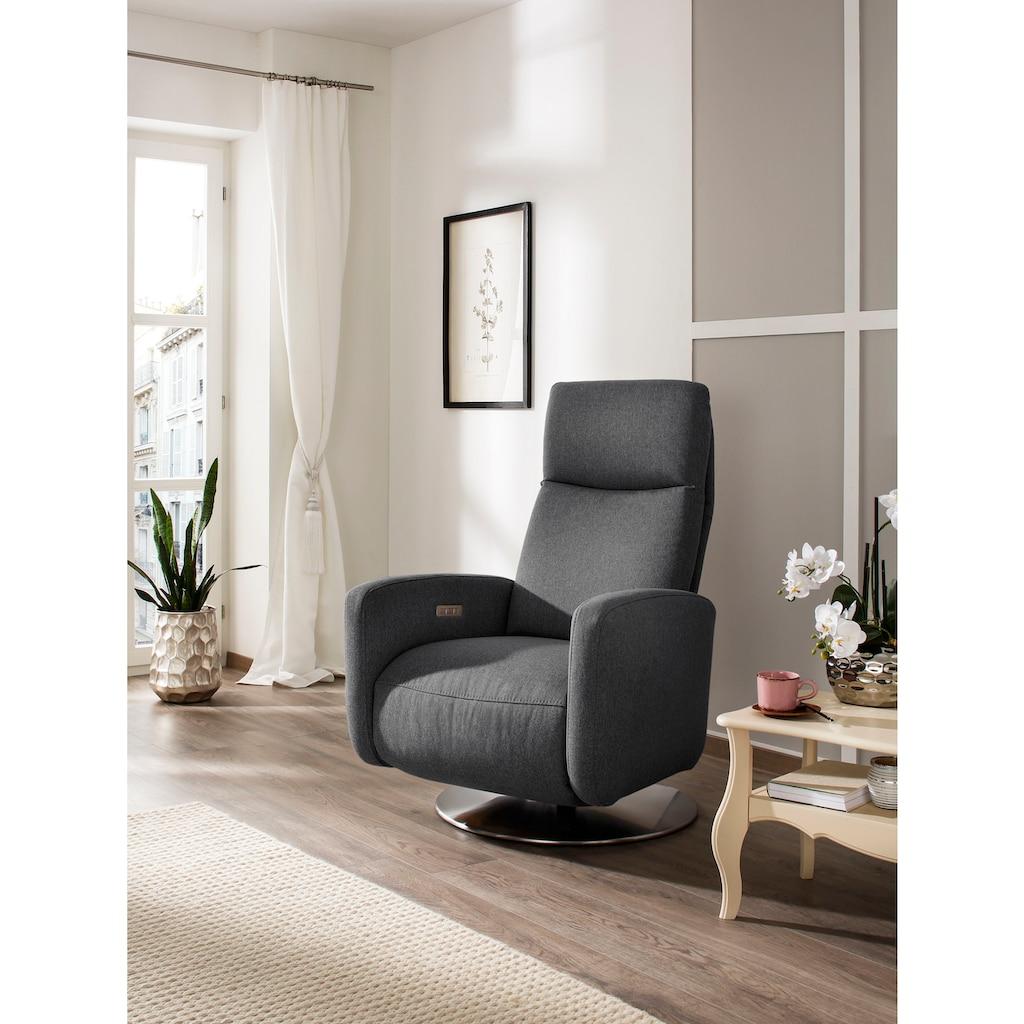DELAVITA Relaxsessel »Dundee«, in 3 Breiten (S,M,L) und wahlweise manuelle oder 2-motorische Relaxfunktion und auch mit Aufstehhilfe