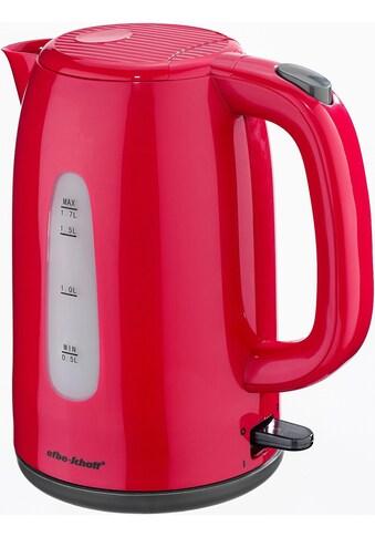 Efbe-Schott Wasserkocher »SC WK 1080.1 ROT«, 1,7 l, 2200 W kaufen