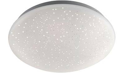 Leuchten Direkt Deckenleuchte »SKYLER«, LED-Board, Farbwechsler, LED, dimmbar, Ø 26 cm, Sternenhimmel-Optik, Farbwechsel RGB+W, mit Fernbedienung kaufen